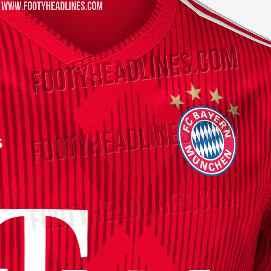 df9187be Exclusive: Full Bayern München 18-19 Home Kit Leaked - Navy Shorts ...