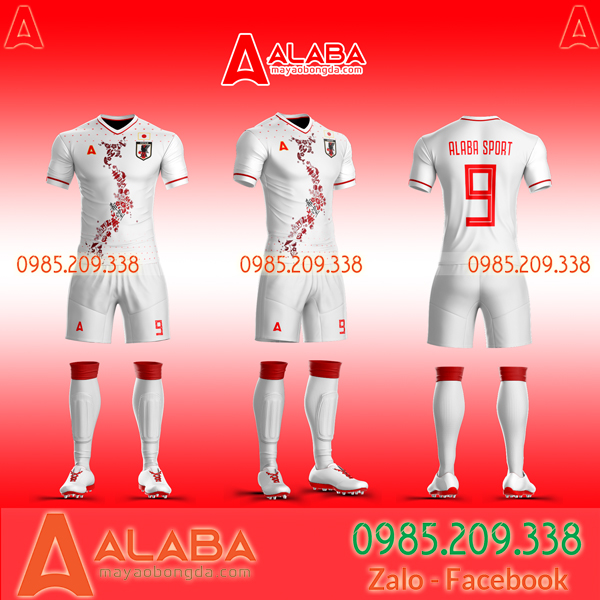 Áo bóng đá  đội tuyển Nhật đẹp