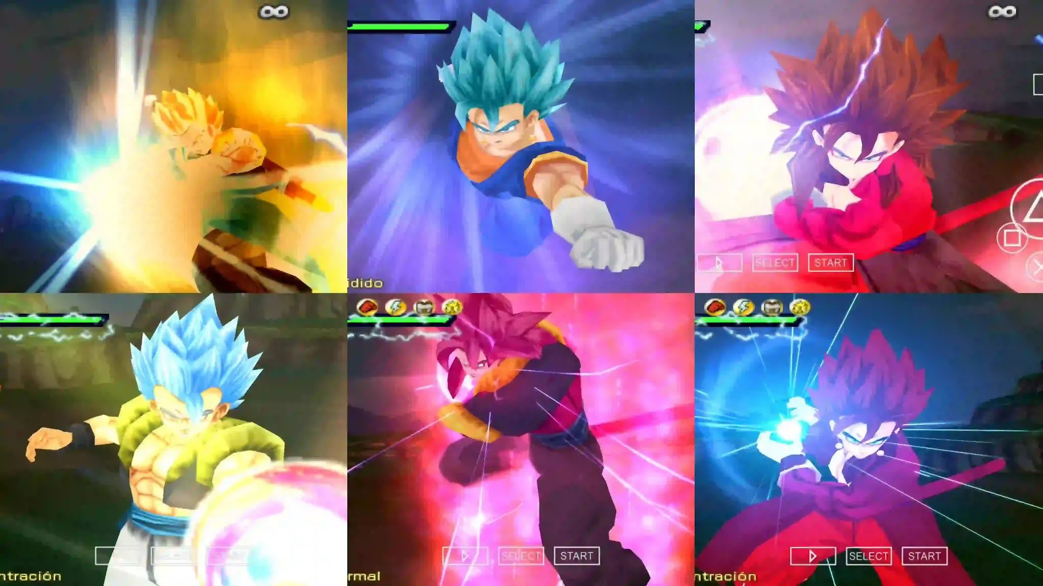 Super Dragon Ball Heroes Big bang all Fusions