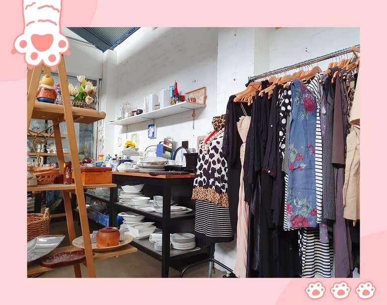 thrift shop, charity shop