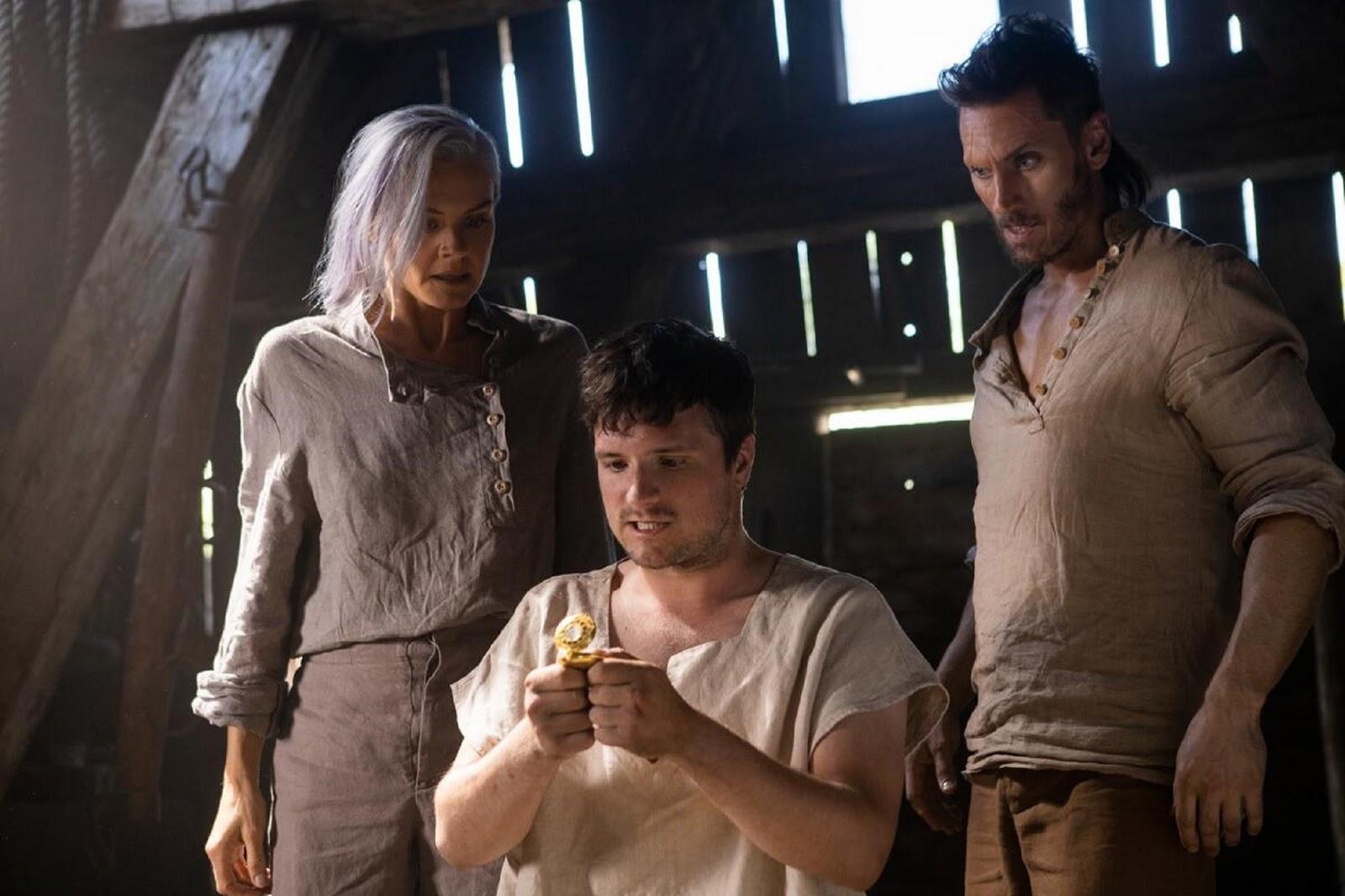 Josh, Wolf y Tiger, en la tercera temporada de Future Man