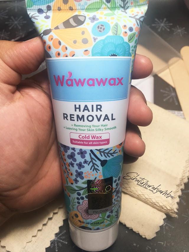 Wawawax Hair Removal Organic Natural Cold Wax
