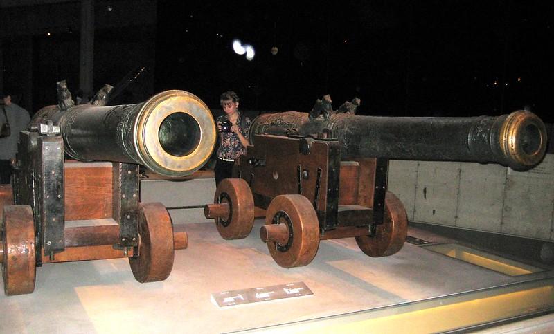 vasa museum canons