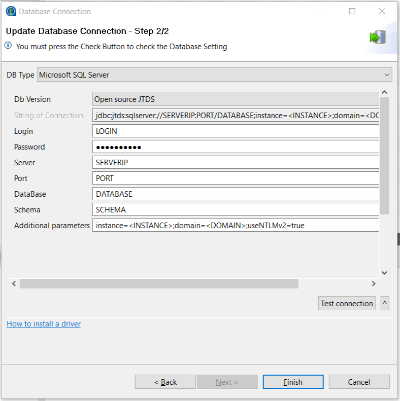 SQL Server connection using windows authentication from a