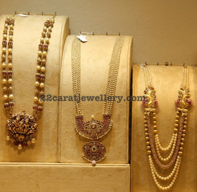Pearls Long Chains by Kalasha Jewels