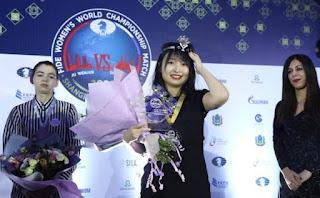 AJEDREZ - Ju Wenjun reitera en ser la mejor del mundo