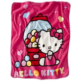 Gambar Selimut Hello Kitty 3