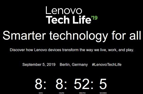 Lenovo Tech Life 2019 Livestream