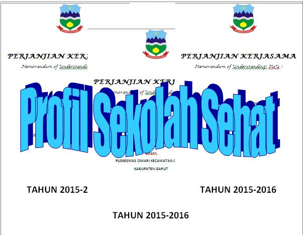 Contoh Laporan Program Sekolah Unggulan Profil Sekolah Sehat Dokumen Sekolah