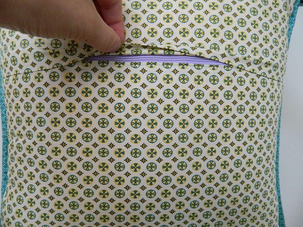 Sewing A Zipper In A Pillow.S O T A K Handmade August 2012