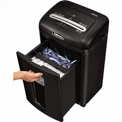 450Ms Fellowes Micro Cut Paper Shredder