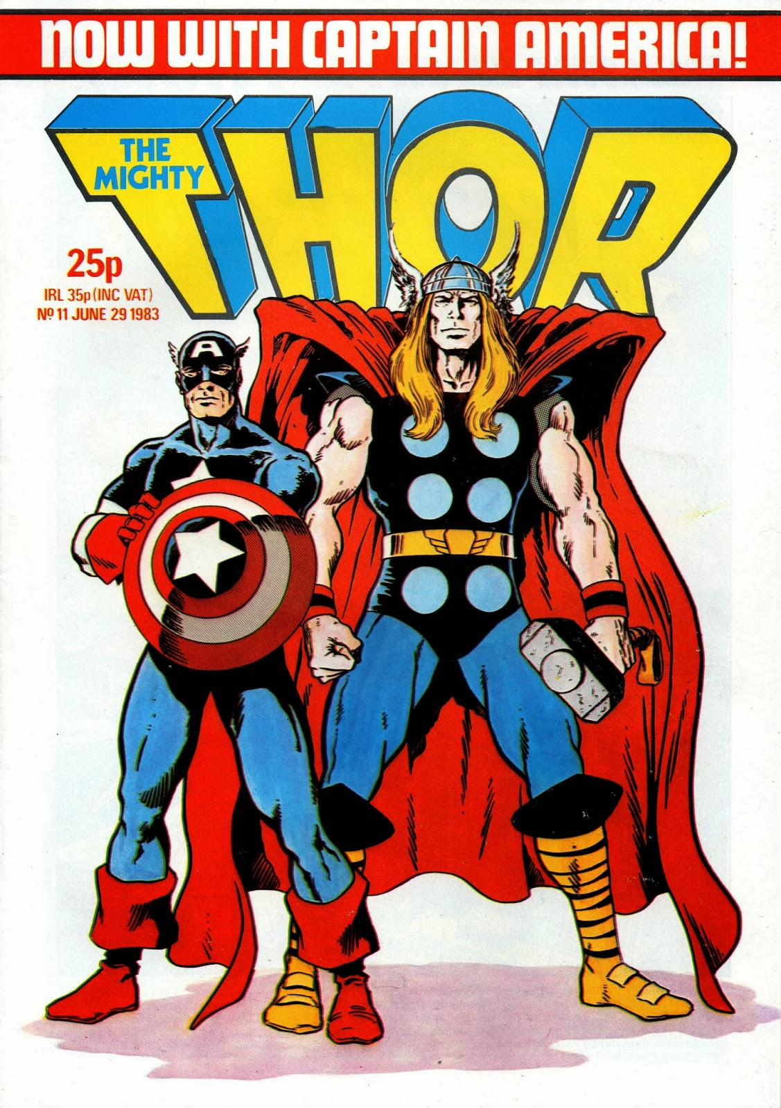 Crivens Comics Amp Stuff Part Two Of The Mighty Thor Cover