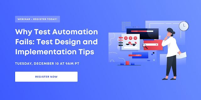 Test Automation Webinar