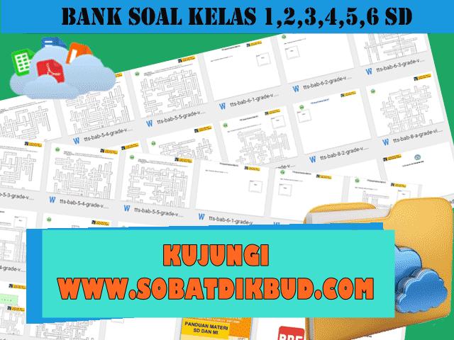 Download Bank Soal SD Kelas 1,2,3,4,5,6 Semua Mata Pelajaran