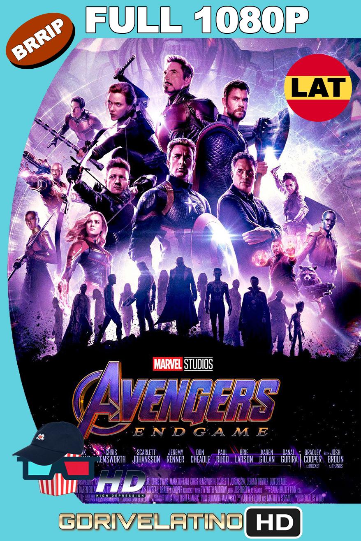 Avengers EndGame (2019) OPEN MATTE BRRip 1080p Latino-Ingles MKV