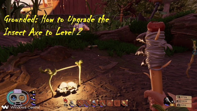 Grounded: How to Upgrade the Insect Axe to Level 2
