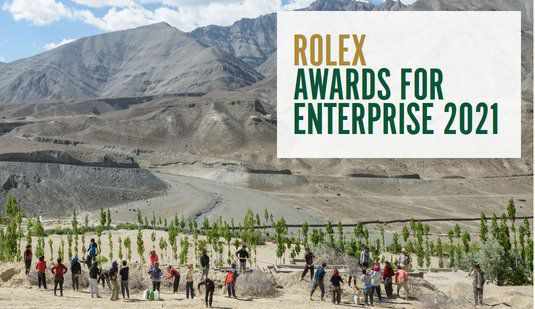 Rolex Awards Enterprise 2021 for young Leaders Worldwide (200,000 Swiss francs per Awardee)
