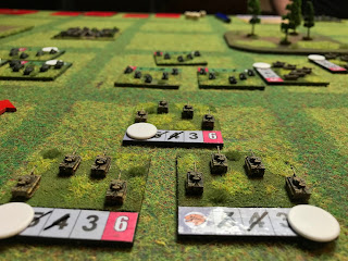 German Tiger tanks attack Soviet T-34s