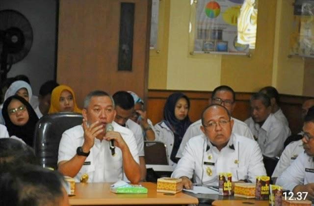 Sekdakab Pimpin Rapat Penyusunan (RKPD) 2021 Pemerintah Kabupaten Tulang Bawang Barat