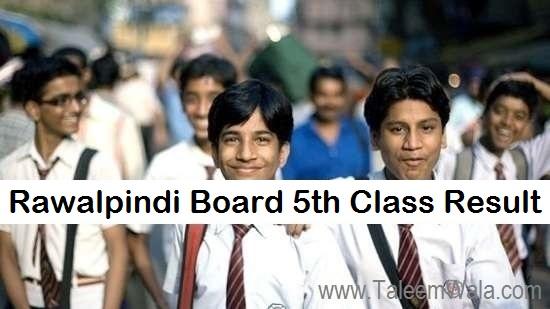 Rawalpindi Board 5th Class Result 2019 PEC Online - BISE Pindi Board Results