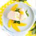 Schneller Mango-Mozzarella Wrap mit Minze / Mein Frühstücksglück