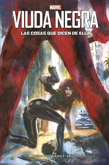 Comic: Review de Viuda Negra: Las cosas que dicen de ella de Bill Sienkiewicz - Panini Comics