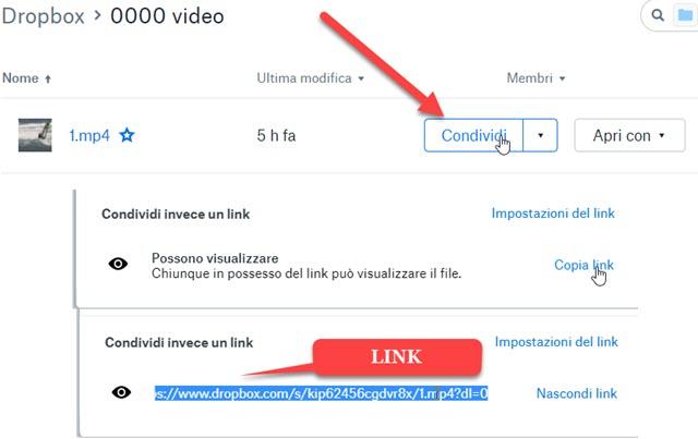 link-condivisione-dropbox