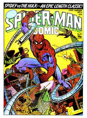 Spider-Man Comic #317