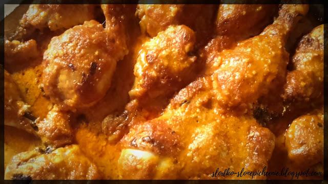 Kurczak pieczony w ketchupie i majonezie