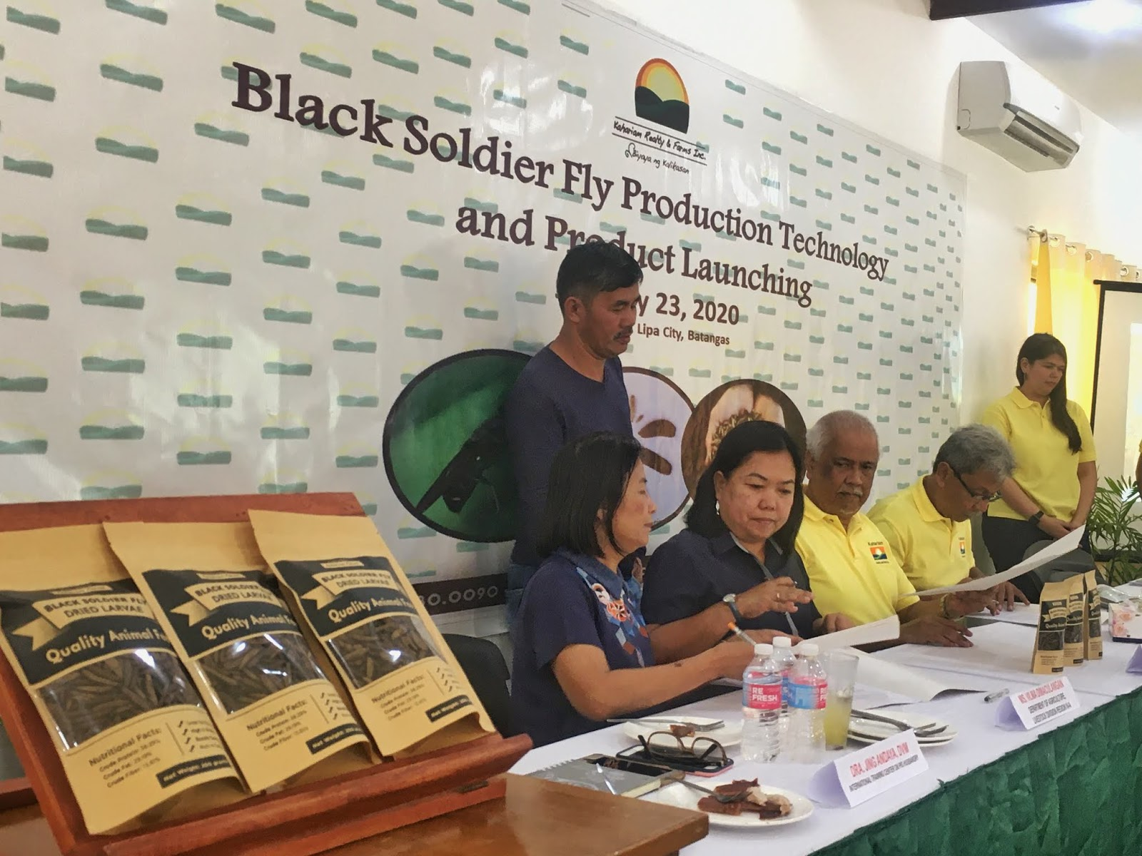 black soldier fly workshop seminar philippines