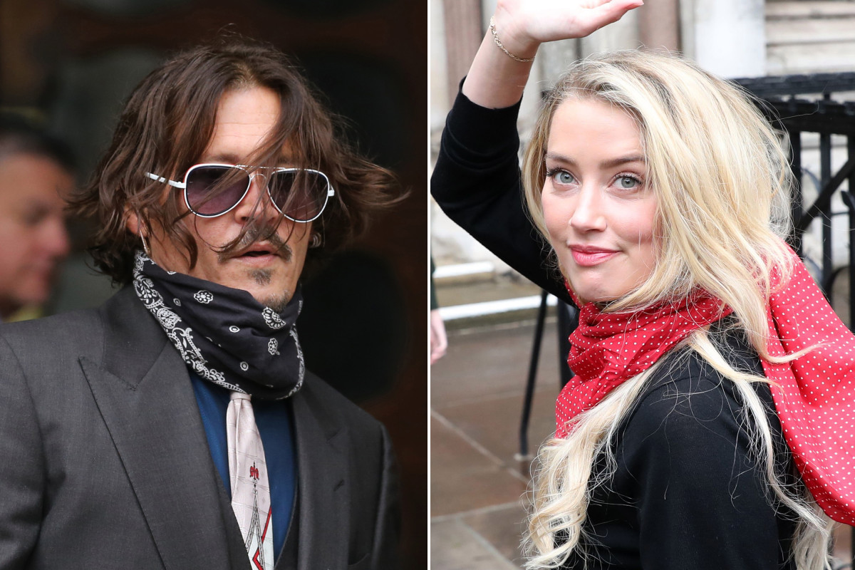 News Australian Amber Heard Johnny Depp Assaulted Amber Heard After She Laughed At Tattoo Court Told