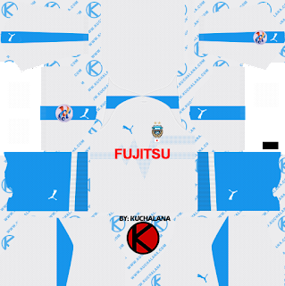 Kawasaki Frontale ACL kits 2019 - Dream League Soccer Kits