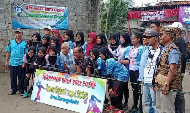 Turnamen Bola Volly Tunas Bahari Cup, Tandakan Pangandaran Sambut New Normal Dengan Baik