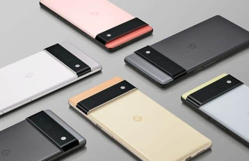 Google presents the first official glimpse of the Pixel 6