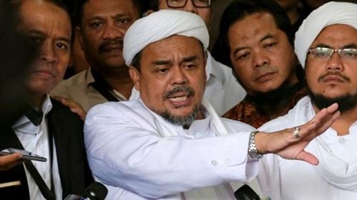 Rizieq Shihab Minta Pemerintah Bebaskan Semua Tahanan Politik