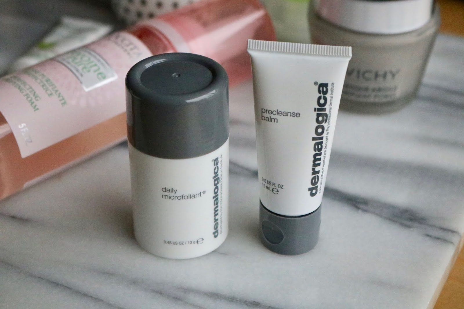 Dermalogica PreCleanse Balm and Daily Microfoliant