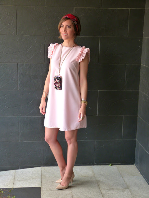 Fitness And Chicness-Light Pink Dress Vestido y Tacon-5