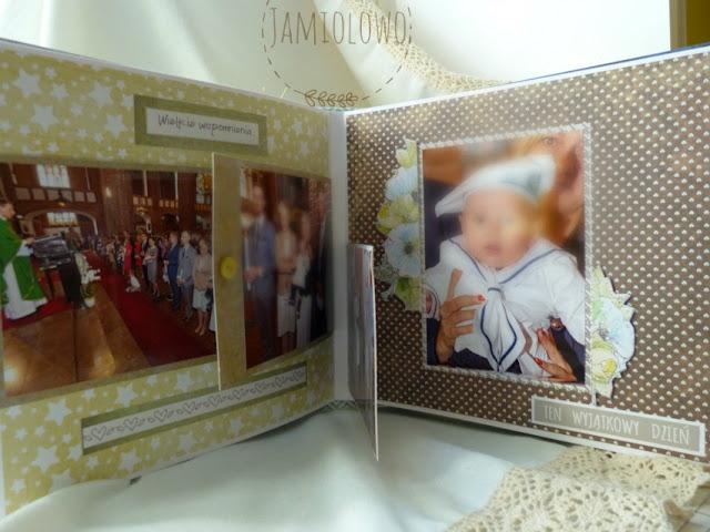 album rodzinny -chrzest