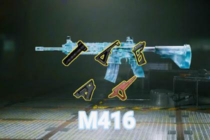 Rekomendasi Attachment Terbaik Senjata M416 PUBG Mobile. Recoil Auto Lurus