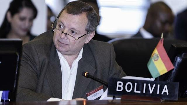 Embajador de Bolivia ante la OEA renuncia a su cargo