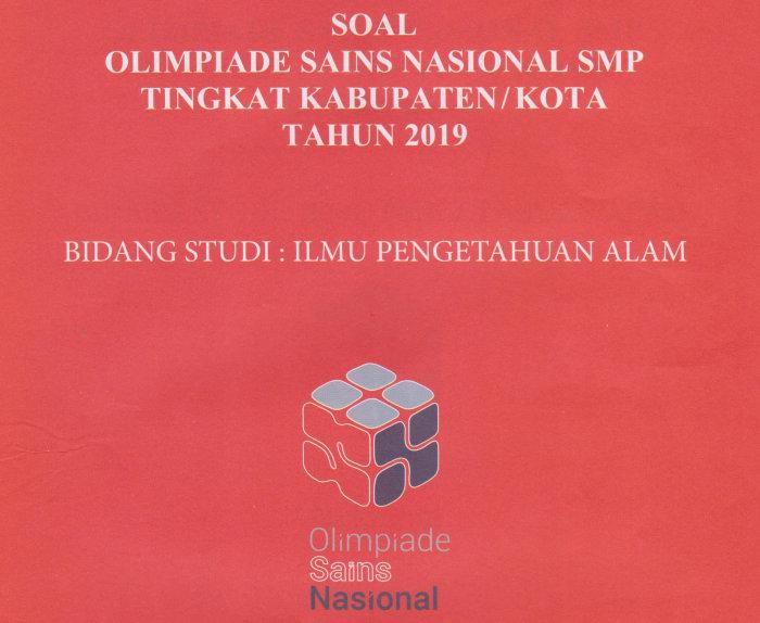 Most popular contoh soal olimpiade bahasa inggris. Soal Osn Ipa Smp Tingkat Kabupaten Kota Didno76 Com