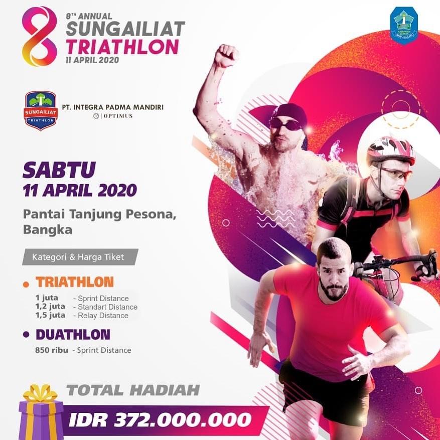 Sungailiat Triathlon • 2020