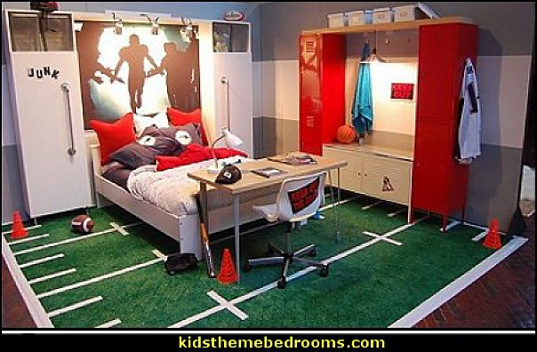 football bedroom ideas sports bedroom decor sports bedroom decorating ideas sports rooms boys