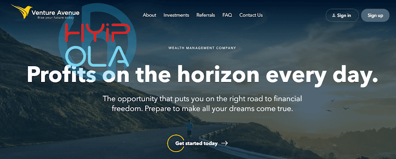 [SCAM] Review Venture Avenue - Dự án khá tốt từ Autralia, lãi up 5% hằng ngày