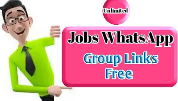 Jobs WhatsApp Group Link | 500+ Jobs WhatsApp Group
