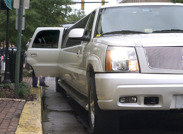 renting a limo for event