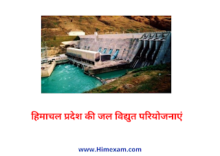 Hydropower projects of Himachal Pradesh