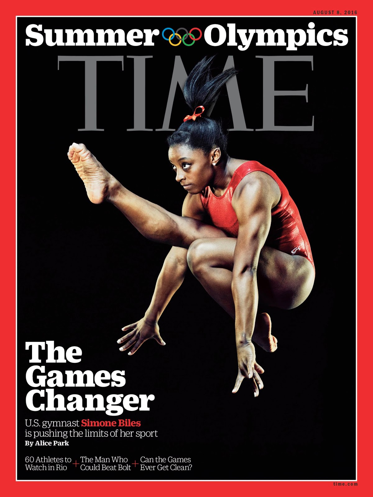 Behind TIME's Olympics Cover With Simone Biles