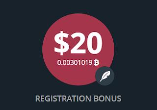 Bonus Crypto Tanpa Deposit Barginex $20
