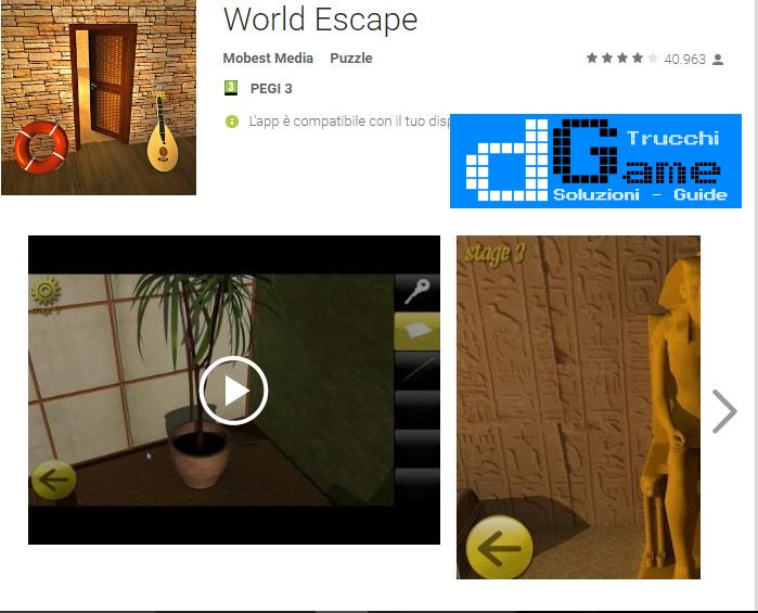 Soluzioni World Escape di tutti i livelli | Walkthrough guide